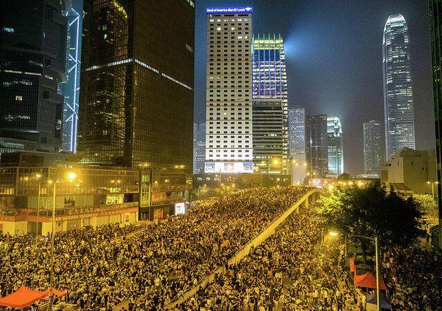 Hong Kong's Umbrella Revolution