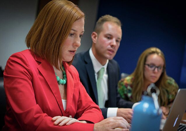 US Department spokesperson Jen Psaki stated that 40 OSCE parliamentarians from more than 20 OSCE participating states, including Russia, will monitor the ongoing midterm elections to the US.