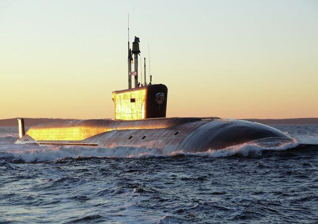 The nuclear submarine Vladimir Monomakh
