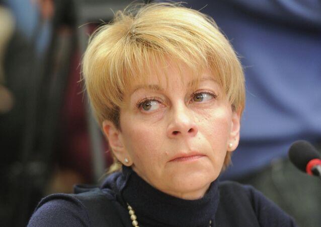 Elizaveta Glinka, head of the charity fund Spravedlivaya Pomoshch