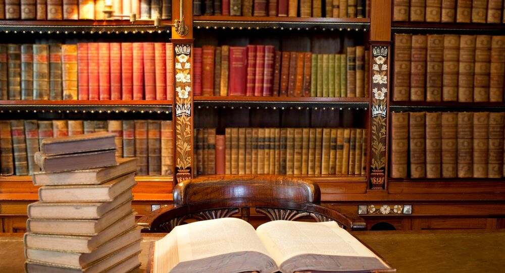 Archives in a library