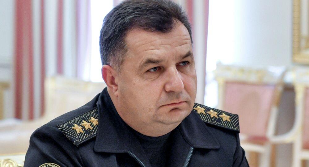 П.Порошенко внес в Раду кандидатуру С.Полторака на пост главы Минобороны Украины