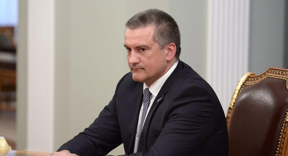 Crimean head Sergei Aksenov