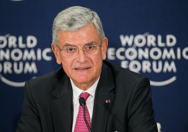 Volkan Bozkir, Minister for EU Affairs and Chief Negotiator, Ministry of EU Affairs of Turkey at the World Economic Forum Special Meeting on Unlocking Resources for Regional Development
