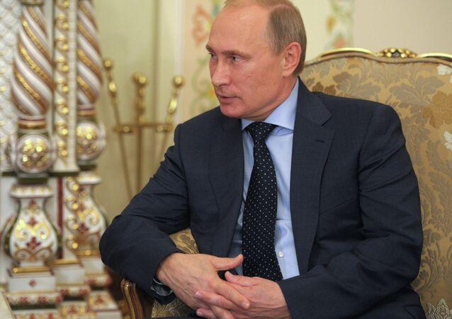 В.Путин провел рабочую встречу с М.Чан