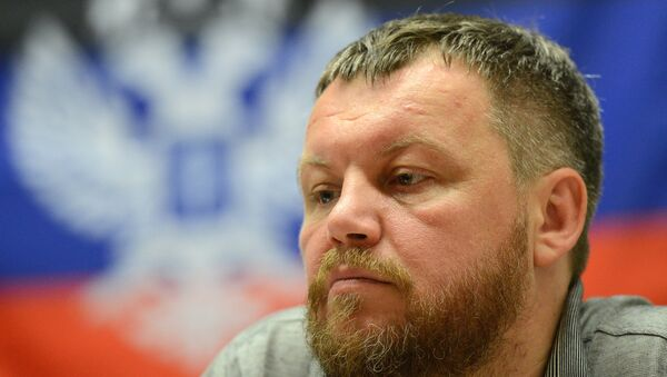 The elections in Ukraine can not be considered as free elections, they are 'farce', Donetsk People's Republic (DPR) Deputy Prime Minister Andrei Purgin told RIA Novosti Sunday. - Sputnik International