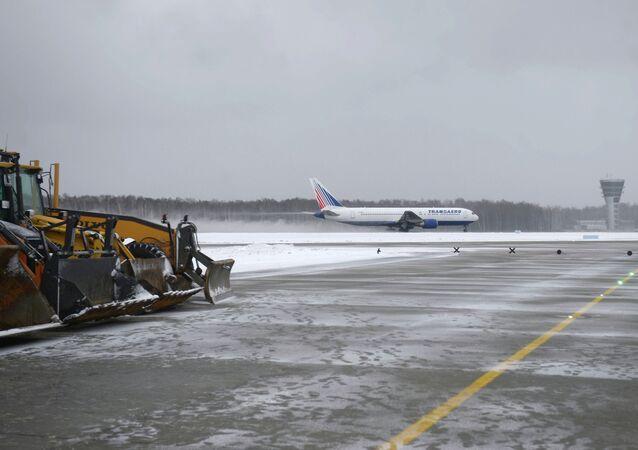Vnukovo Airport's new runway