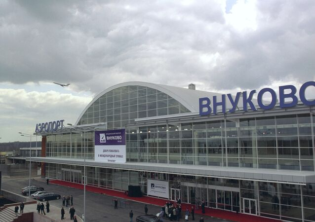 International terminal at Vnukovo airport