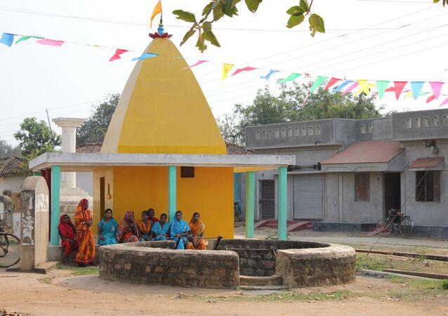 School building in Chhattisgarh, India