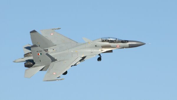The Indian Air Force is due to purchase another 72 Russia-developed Sukhoi-30 fighter aircrafts. - Sputnik International