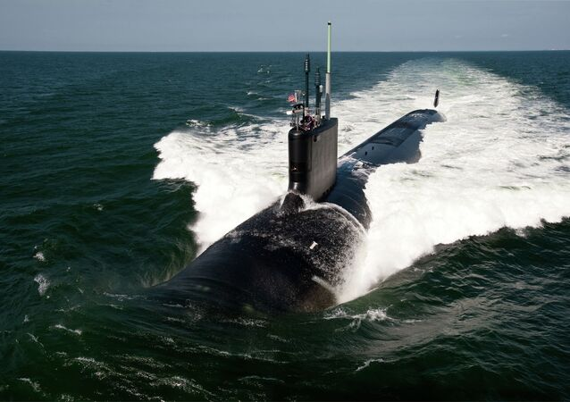 The Virginia-class fast-attack submarine USS California